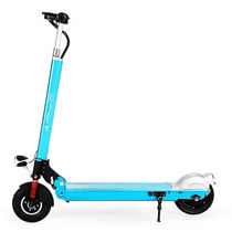 升特 电动滑板车 可折叠便携迷你电动车 成人锂电滑板车  随身车代步车代驾车 豪华版 续航35-45km 蓝色产品图片主图