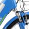 喜德盛 传说9号 电动车48V/9AH可抽取式锂电池20/24寸铝合金双人电单车 电动自行车 24寸 深蓝色产品图片2