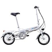 喜德盛  先行者3 电动自行车 折叠电动车 36V锂电池 14寸超轻迷你代驾车 电动车 白色