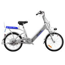 喜德盛 锂电自行车铝合金20/24寸传说9号 电动自行车 银色 24寸产品图片主图