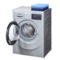 西门子  WM10L2687W 7公斤 变频 滚筒洗衣机 无旋钮触控 加速洗 节能洗(银色)产品图片4