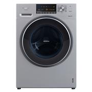 松下 XQG70-E57G2T 7公斤全自动变频滚筒洗衣机 泡沫净洗涤 银色