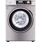 三洋 WF810320BS0S 8公斤变频滚筒洗衣机 57°斜面板 中途添衣 桶自洁(浅咖亚银)