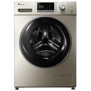 小天鹅 TD80-1416MPDG 8公斤大容量洗烘一体 水魔方变频滚筒洗衣机 金色