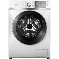 美的 MG80-1617WIDQC 8公斤变频滚筒洗衣机(白色) 智能APP控制 i-smart自动投放产品图片主图