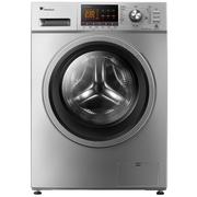 小天鹅 TG80-1411DXS 8公斤变频滚筒洗衣机(老虎银色) 双核变频 智能洗涤