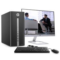 惠普 TPC-F086-MT 550-259cn台式电脑(i5-6400 4G 1TB GT745 4GB独显 Win10)23英寸显示器产品图片主图