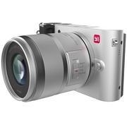 小蚁 微单相机人像镜头套装银色 型号M1 人像镜头42.5mmF1.8套装 可换镜头式智能相机