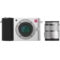 小蚁 微单相机人像镜头套装银色 型号M1 人像镜头42.5mmF1.8套装 可换镜头式智能相机产品图片2