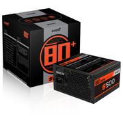 游戏悍将 80+系列 S500电源(白牌效应/宽幅电压/600mm长背线/静音风扇)
