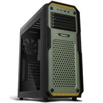 安钛克 GX909 军绿色 中塔机箱(支持ATX主板/支持超长显卡/顶部开关鳍片/6个风扇位/电脑机箱)产品图片主图