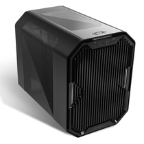 安钛克 CUBE 黑色 ITX水冷机箱 (EK定制/3mm铝材/支持240水冷/RGB变换/支持长显卡)产品图片主图
