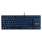 达尔优 DK100背光版 电竞游戏机械键盘 黑色黑轴