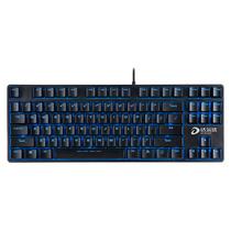 达尔优 DK100背光版 电竞游戏机械键盘 黑色黑轴产品图片主图