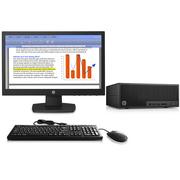 惠普 280 G2 SFF Y8Q20PA小型台式电脑(G3900 4G 500G Win10)18.5英寸显示器