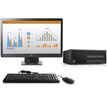 惠普 280 Pro G2 SFF小型商用台式电脑(i3-6100 4G 500G DVDRW Win10 )23英寸显示器产品图片主图