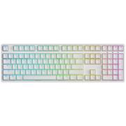 Ikbc F-108 RGB 幻彩背光机械键盘 108键原厂Cherry轴 白色 茶轴