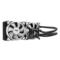 爱国者 冰塔T240极光版 CPU散热器(一体式水冷/长寿命陶瓷轴承/白光LED风扇/全平台支持/硅脂)产品图片2