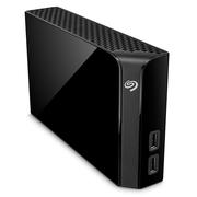 希捷 Backup Plus Hub 睿品8T 3.5英寸 USB3.0扩展(USB Hub)桌面硬盘 黑色(STEL8000300)