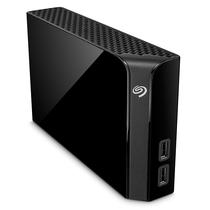 希捷 Backup Plus Hub 睿品8T 3.5英寸 USB3.0扩展(USB Hub)桌面硬盘 黑色(STEL8000300)产品图片主图