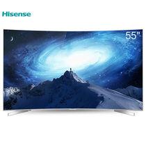 海信 LED55EC780UC 55英寸 曲面4K智能平板电视 HDR动态显示 64位14核处理产品图片主图