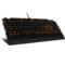 达尔优 EK815 104键 橙色背光全键无冲水流游戏机械键盘 黑色 红轴产品图片2