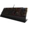 达尔优 EK815 104键 橙色背光全键无冲水流游戏机械键盘 黑色 红轴产品图片3