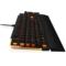 达尔优 EK815 104键 橙色背光全键无冲水流游戏机械键盘 黑色 红轴产品图片4