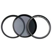 天气不错 72mm滤镜套装 超薄UV镜+超薄CPL镜+ND8减光镜 适合佳能EF-S18-200/15-85尼康24-85/18-200等镜头