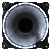 乔思伯 Eclipse日食-炫光白 12CM机箱风扇 (LED发光风扇/PWM温控/主板4PIN接口)产品图片主图