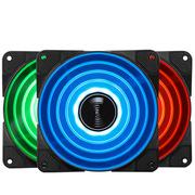 乔思伯 FR-531 12CM机箱风扇 RGB风扇 三风扇套装 (12CM/LED RGB 256色发光风扇)