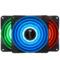 乔思伯 FR-531 12CM机箱风扇 RGB风扇 三风扇套装 (12CM/LED RGB 256色发光风扇)产品图片1