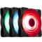 乔思伯 FR-531 12CM机箱风扇 RGB风扇 三风扇套装 (12CM/LED RGB 256色发光风扇)产品图片2