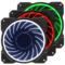 乔思伯 FR-131 12CM 机箱风扇 RGB风扇 三风扇套装 (12CM/LED RGB 256色发光风扇)产品图片1