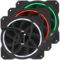 乔思伯 FR-131 12CM 机箱风扇 RGB风扇 三风扇套装 (12CM/LED RGB 256色发光风扇)产品图片2