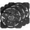 乔思伯 FR-131 12CM 机箱风扇 RGB风扇 三风扇套装 (12CM/LED RGB 256色发光风扇)产品图片3