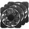 乔思伯 FR-131 12CM 机箱风扇 RGB风扇 三风扇套装 (12CM/LED RGB 256色发光风扇)产品图片4