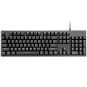 先马 机械战舰K715 背光机械游戏键盘 青轴 黑色 无冲 标准104键