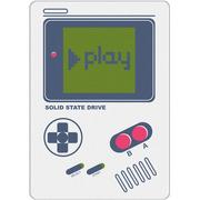 OV GAME BOY PLAY系列 120G SATA3 SSD固态硬盘 白色