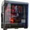 追风者 614LTG 黑色 全塔式机箱(支持EATX双路主板/钢化玻璃全侧透/带RGB灯饰/配3个风扇)产品图片3