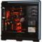 追风者 614LTG 黑色 全塔式机箱(支持EATX双路主板/钢化玻璃全侧透/带RGB灯饰/配3个风扇)产品图片4