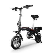 酷车e族 电动自行车智能代步折叠电动车 迷你锂电池自行车 标准版