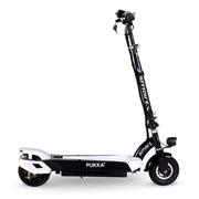 PUKKA 电动滑板车可折叠迷你成人电动车代驾代步锂电动自行车 机甲黑 30公里续航