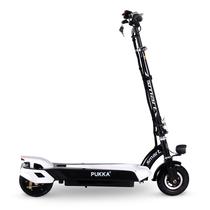 PUKKA 电动滑板车可折叠迷你成人电动车代驾代步锂电动自行车 机甲黑 30公里续航产品图片主图
