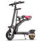 酷车e族 电动滑板车 锂电池成人折叠代步自行车 带儿童座椅 10英寸产品图片1