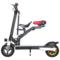 酷车e族 电动滑板车 锂电池成人折叠代步自行车 带儿童座椅 10英寸产品图片2