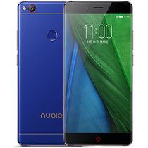 努比亚  Z11 无边框双卡双待手机 极光蓝 全网通(4GRAM+64GROM)标配产品图片主图