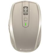 罗技 无线便携鼠标MX Anywhere2 蓝牙优联双模式(亚光金)
