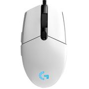 罗技 G102 游戏鼠标 RGB鼠标 白色