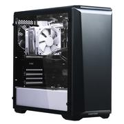 追风者 416PSTG 黑白色 中塔式机箱(ATX钢化玻璃静音版/RGB灯控/调速主动降噪/支持280水冷)